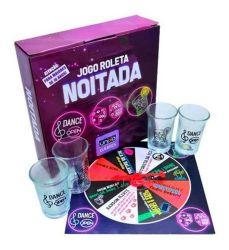 JOGO ROLETA NOITADA COM 4 SHOTS